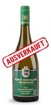 Weissburgunder-Chardonnay trocken 2018
